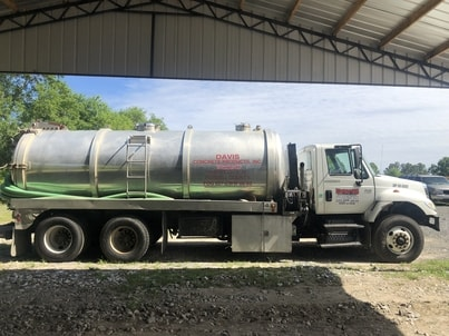 grease trap service truck in Columbus, Ga